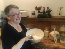 Blackpool stroke survivor encourages budding bakers to Give a Hand and Bake