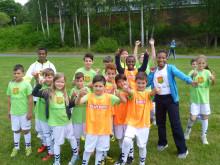 95 barn deltar på sommarfotboll med GAIS