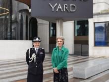 Royal visit to New Scotland Yard
