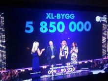 5,8 miljoner till kampen mot cancer!