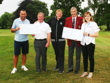 Upton By Chester Golf Club raises £2,000 for the Stroke Association