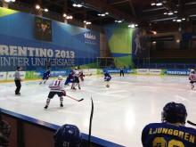 Knapp svensk förlust i hockeypremiären i Vinteruniversiaden