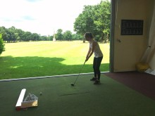 Lucy Matthews, Our Marketing Assistants Tries Golf For The First Time...