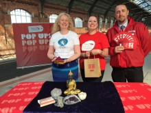 Pop-up to Darlington station