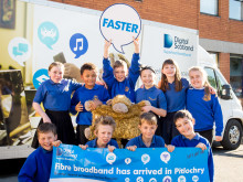 ​Perth and Kinross pupils get a lesson with fibre broadband