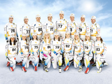 Swedish cross-country skiers keep on racing  in Craft sportswear