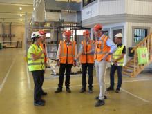 Skanskas koncernledning vill växla upp produktionen i BoKlok