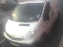 Images released of van sought as witness following fatal road traffic collision