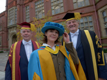 Northumbria awards Duchess of Northumberland with honorary degree