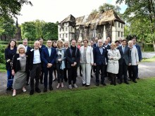 Die Direktorinnen und Direktoren der RuhrKunstMuseen zur Pressekonferenz von Kunst & Kohle