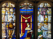 Panasonic plays integral role in unique stained glass exhibition at The Vyne