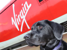 VIRGIN TRAINS SUPPORTING GUIDE DOGS