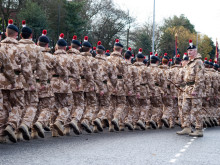 Fusiliers 2009 Homecoming Parade