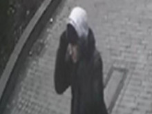 CCTV still of man sought - Bow stabbing