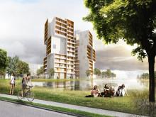 Aptus passagesystem och porttelefoner i Odenses nya landmärke