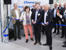 Erik Brandsma invigde ChromoGenics pilotanläggning för tillverkning av smarta fönster