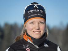 Längdskidåkaren Moa Larsson sexa i Universiaden