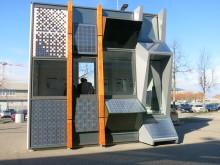 Musterfassade auf ZÜBLIN-Campus zeigt gebäudeintegrierte Photovoltaik