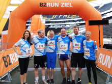 B2RUN: Allgeier Company Team in Frankfurt