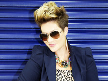 Fabulously floral! Celebrity stylist Gemma Sheppard pays homage to #seriouslyhoteyewear at Vision Express