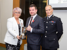 Officer presented with Livia Award