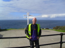 ​Worcester man completes 3,000 mile motorcycle ride for the Stroke Association