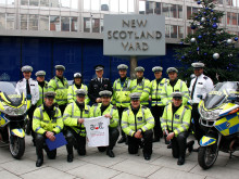Commissioner and Met bikers urge officers and staff to stem the tide