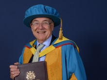 Labour peer Lord Falconer becomes Doctor of Civil Law.