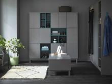 Dynamiskt och trendigt dressingroom