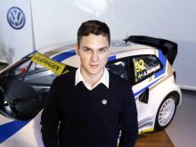 Anton Marklund begår premiär i Rallycross-VM i portugisiska Montalegre i helgen.