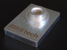 Essve Tech stansmutter i 10 mm stål Liggande