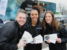 Sight MOTs at Leicester Forest East Services reveal almost 90% of drivers in need of vision correction