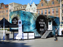 Vision Van tour highlights eye test importance