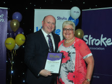 ​Gateshead stroke survivor receives regional recognition