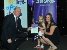 ​Washington two year old stroke survivor receives regional recognition