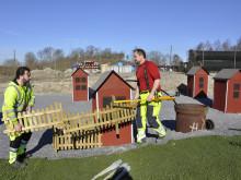 Idag inviger vi Sveriges enda läcksökningsbana