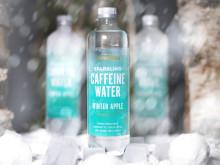 Nu är den här - årets limited winter edition av Löfbergs Caffeine Water