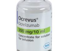 Nya långtidsdata för Ocrevus▼(ocrelizumab) visar fortsatt signifikant minskning av sjukdomsaktivitet och fördröjning av funktionsnedsättning vid skovvis multipel skleros (MS)