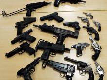 Guns seized - these were not seized as part of Op Kestrel.