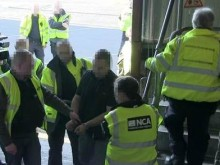 The arrest at Harwich Port