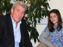 Jeremy Paxman discusses WW1 with Bedales students