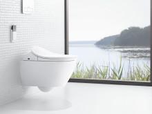 Framtidens toalett är här - styr med en fjärrkontroll
