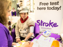 Bishop's Stortford residents join free blood pressure event as part of Vision Express and Stroke Association healthcare initiative