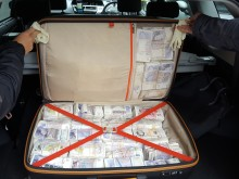 £500,000 worth of cash seized