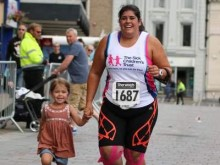 Auntie takes on Great North Run to thank charity for support