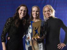 Lotta Schelin, Lisa Dahlqvist, Caroline Seger