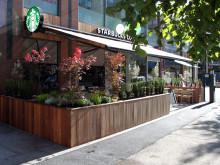 Starbucks har åpnet sin sjette kaffebar i Oslo