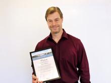 Ulf Nilsson korad till Årets brobyggare