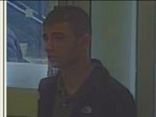 Image of man police wish to speak with - ref: 228322