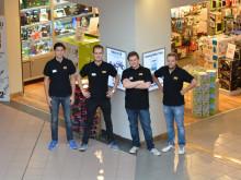 Teknikmagasinets hovedkontor gjennomfører praksis i butikk